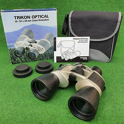 TRIKON OPTICAL ZK-103050 ZOOM BINOCULARS
