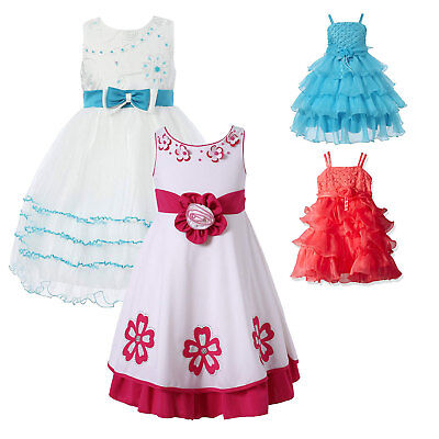 Richie House Kids Girls Party Princess Fancy Dress Up Costumes Flower Age 3 -