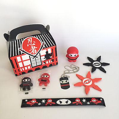 Ninja Goodie Bags for Boys, Premade Ninja Bags, Ninja Birthday Party - Birthday Party Favors For Boys