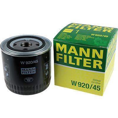 2 Pack 1200 Ersatz (Original MANN-FILTER Ölfilter Oelfilter W 920/45 Oil Filter)