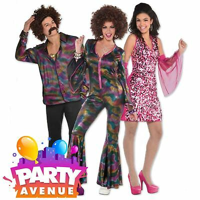 Disco 70s Boogie Adults Accessories Fancy Dress Costume - Disco Accessories