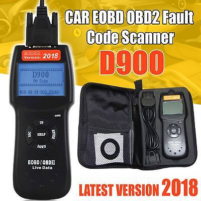 Universal Car Fault D900 Code Reader OBD2 EOBD CAN Diagnostic Scanner Tool