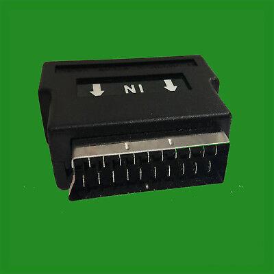 Rca Compuesto Phono / S-VIDEO A Scart Convertidor Adaptador Svhs Av TV...