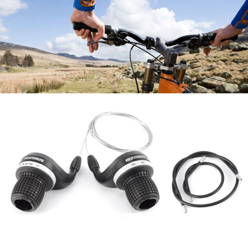 Bicycle Grip Shift Micro Gear Shifters Compatible Bike Cycle DD