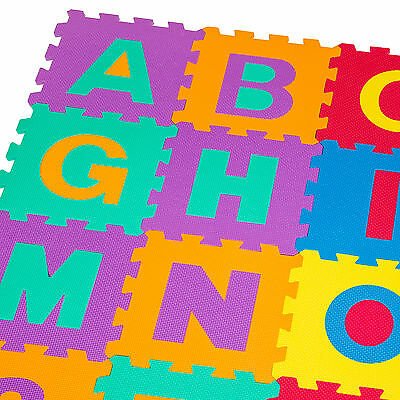 86 tlg Puzzlematte Kinderteppich Spielteppich Schaumstoffmatte Spielmatte Matte
