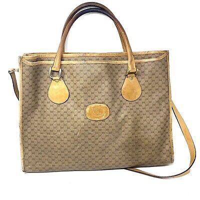 VNTG Gucci 1970th large shoulder bag gg monogram