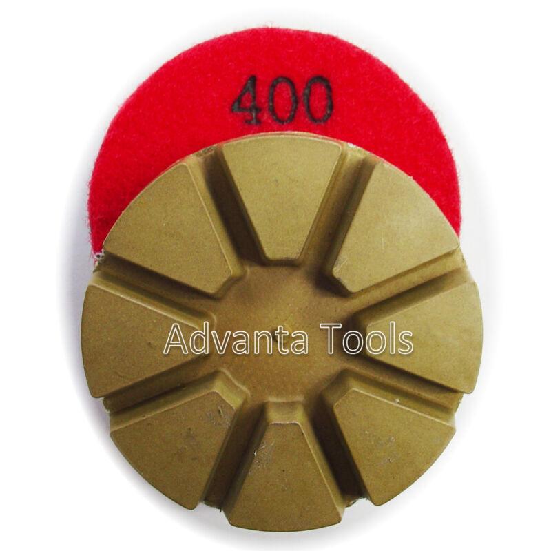 "3"" Metal Bond Diamond Polishing Pad for Concrete Floor – 400 Grit"