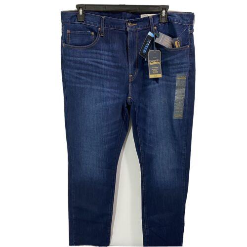 Cremieux Premium Mens Slim Fit Blue Denim Jeans Stretch 40×34 Blue Clothing, Shoes & Accessories