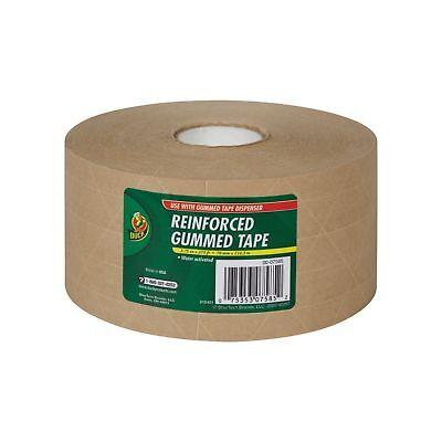 Duck Fiberglass Reinforced Gummed Kraft Paper Tape Water Activated 2.75 Inc...