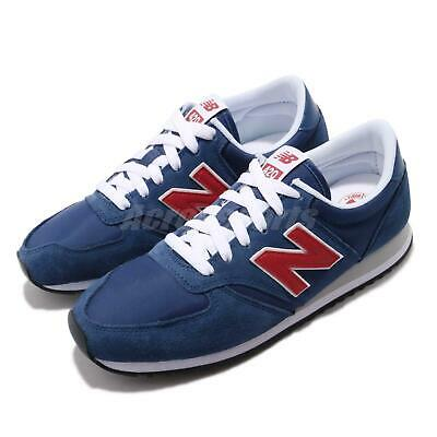 New Balance U420MTR D Blue Red White Men Running Casual Shoes Sneakers U420MTRD