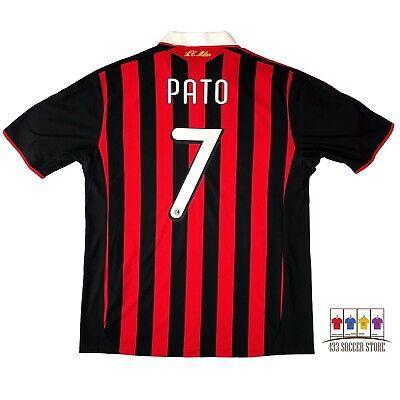 AC Milan 2009/10 Home Soccer Jersey XL Alexandre Pato Adidas Serie A image