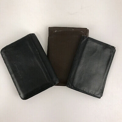 Lot of three wallets Samsonite and 2 others okay condition SMS1