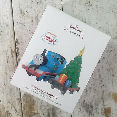 Hallmark 2019 A Tree for Thomas the Tank Engine Train Christmas Ornament set NIB
