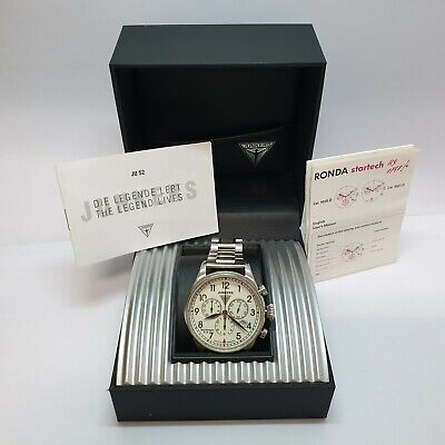 JUNKERS SPITZBERGEN F13 CHRONO QUARTZ WATCH MADE IN GERMANY