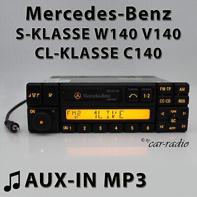 Mercedes Special BE1350 AUX-IN MP3 W140 Radio S CL Klasse C140 Kassettenradio CC