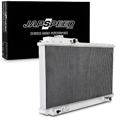 JAPSPEED 50mm ALUMINIUM ALLOY RACE RADIATOR FOR TOYOTA SUPRA MK4 JZA80 MANUAL