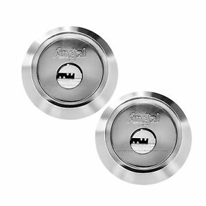 Angal High Security Double Deadbolt Lock(silver) bump/pick/drill proof