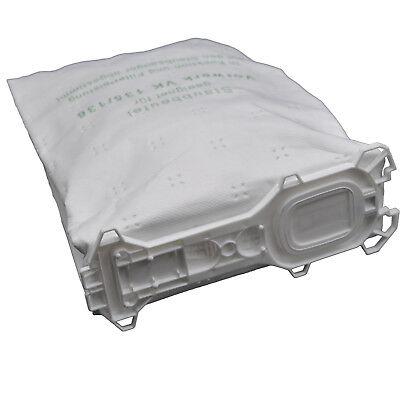 30 Microvlies Staubsaugerbeutel Beutel, geeignet Vorwerk Kobold 135 136 (Wei)