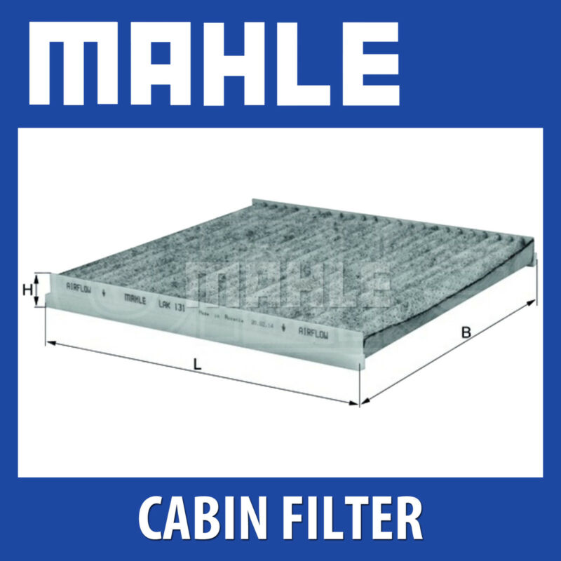 Mahle Pollen / Cabin Filter LAK131 - Fits Toyota Landcruiser,Previa,