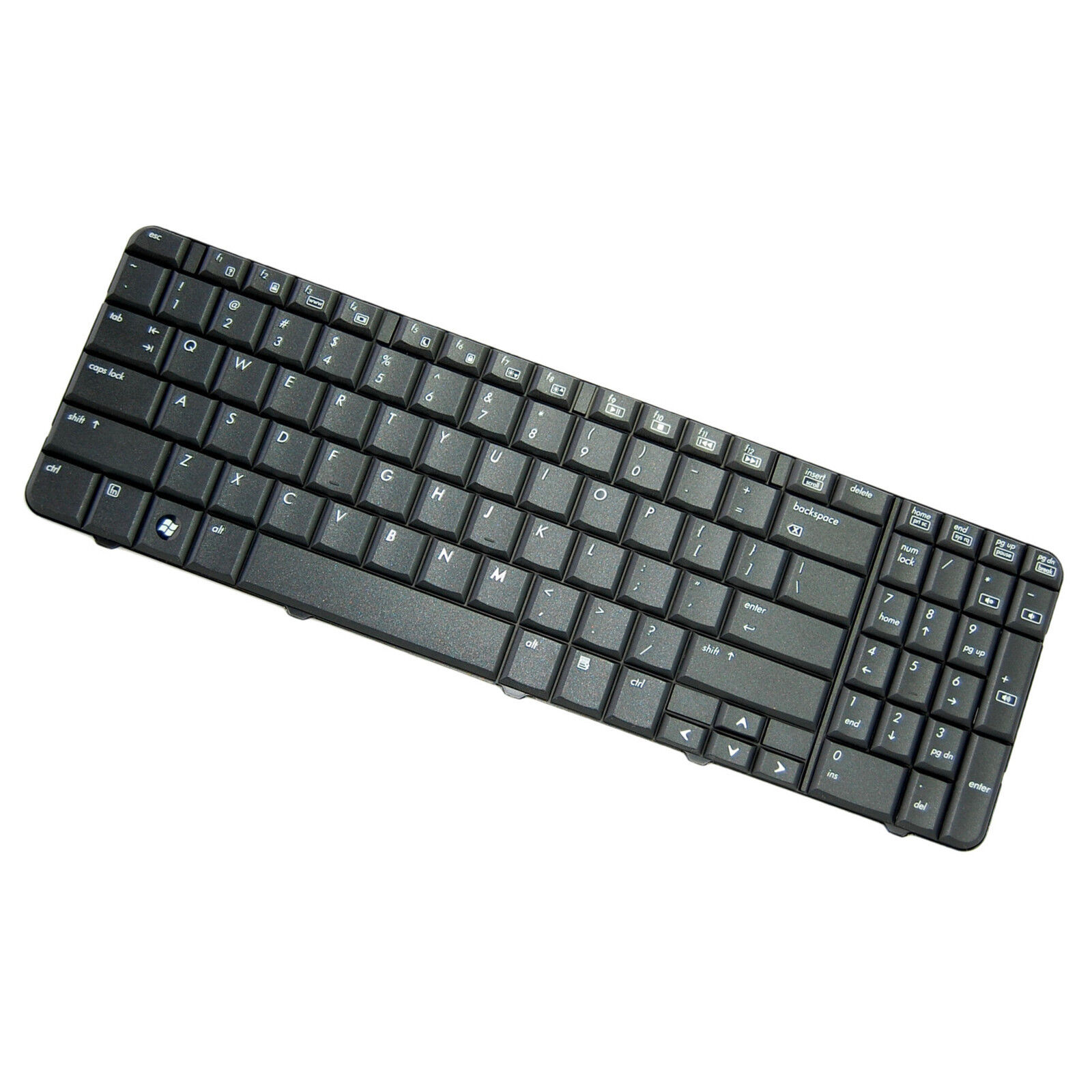 HQRP Teclado para HP G60-219 / G60-230 / G60-230US / G60-233 / G60-234 ordenador