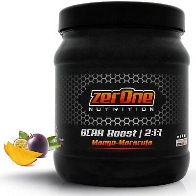 ZerOne Nutrition BCAA Protein Hochdosiertes Pulver Low Carb Shake Powder Booster