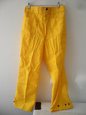100 Nomex Firefighter Gear Brush Fire Wildland Pants Size Small 27 Long