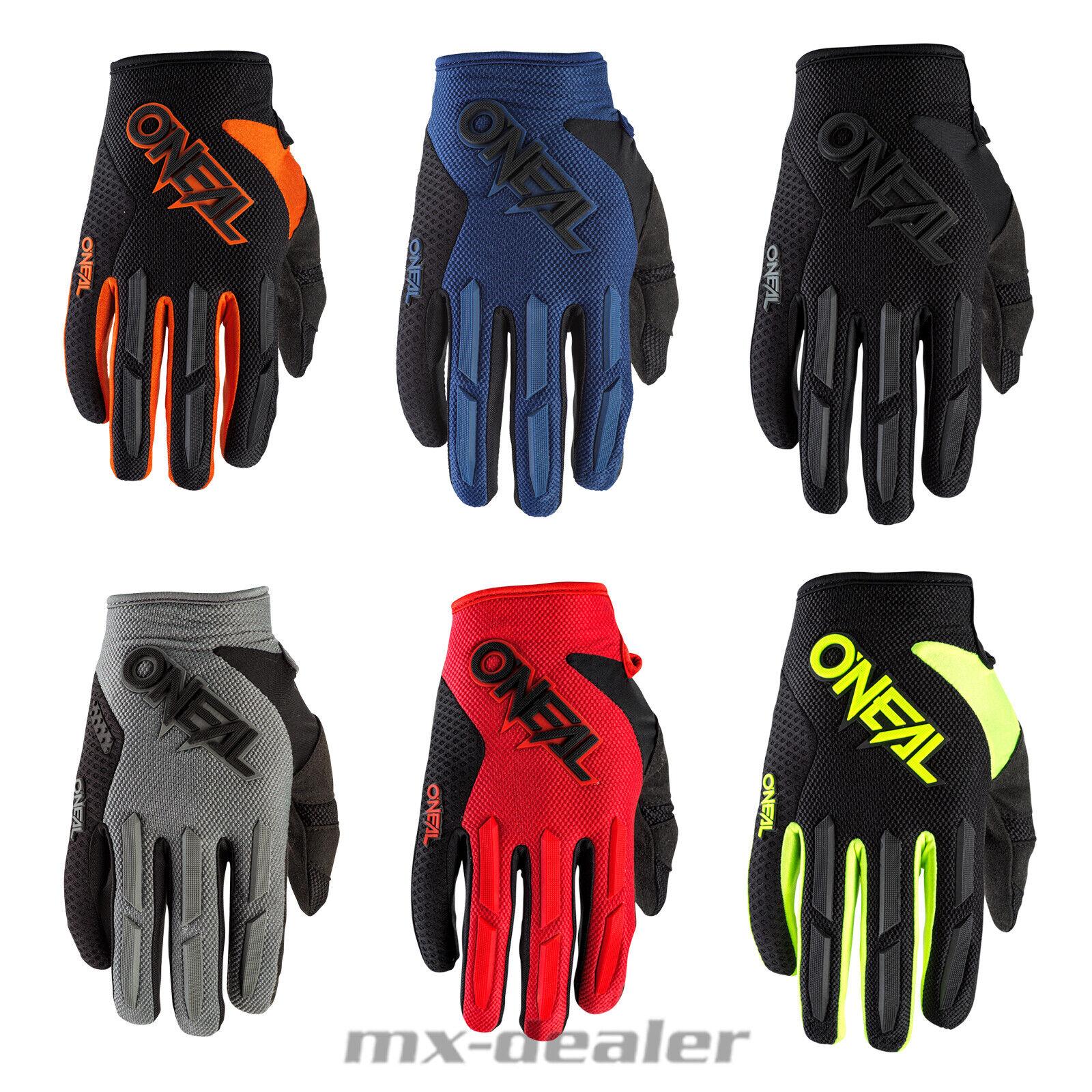 Heyberry Motocross MTB MX Handschuhe schwarz grün Gr L