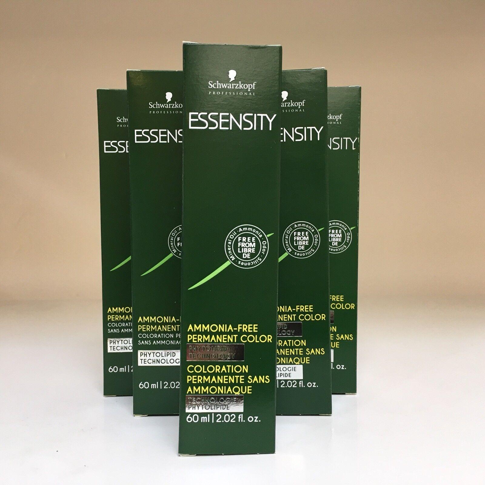 new essensity ammonia free permanent hair color