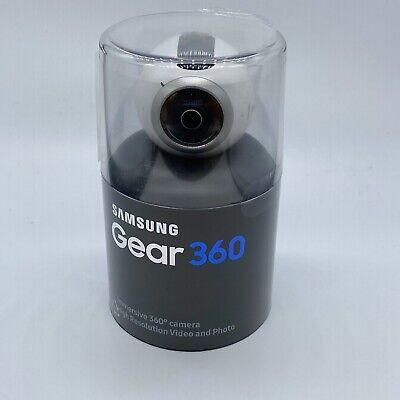 White- Samsung Gear 360 Degree Camera SM-C200 4K Video And Photo