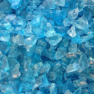 Ice-Blue-turquoise-Sea-Glass-1LB-Bag-Recycled-Tumbled-BULK-Mosaic-Wedding