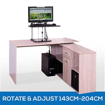 Scandinavian Office Computer Desk Table Home Study Furniture Drawer Cabinet