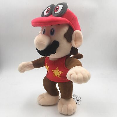 Diddy Kong Costume (Super Mario Odyssey Mario Costume Cappy Diddy Kong Plush Doll - 12)
