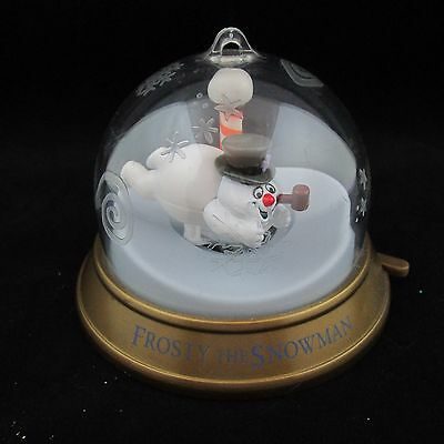 Blockbuster Whirl Around Christmas Ornament 1999 Frosty the Snow Man