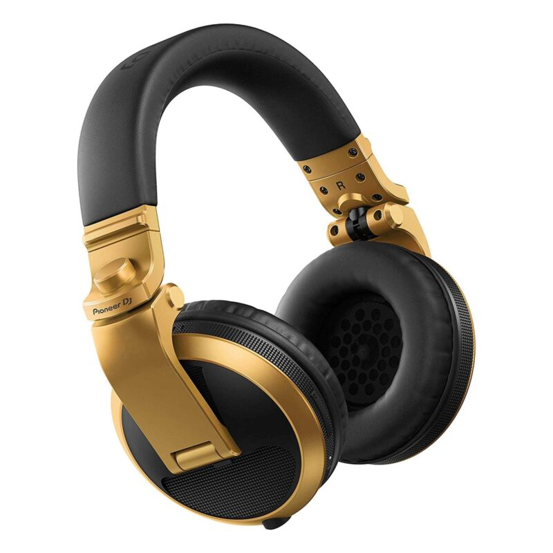 Pioneer DJ HDJ-X5BT Bluetooth DJ Headphones - Gold