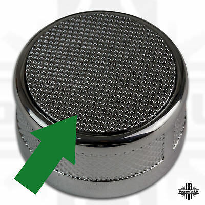 Pop up gear change selector knob topper knurled for Range Rover Evoque dynamic