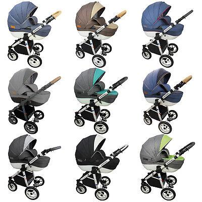 Angebot Kinderwagen 3in1 MONO.E ,Babyschale, Schwenkräder, Viel Zubehör,