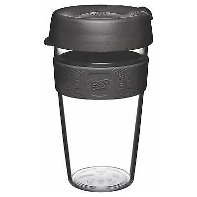 KeepCup Original Clear Edition Reusuable Coffee Cup Travel Mug 454ml 16oz Origin - Clear Mugs