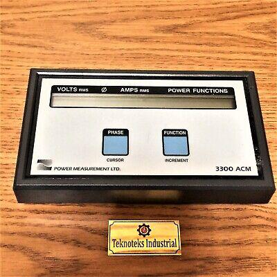 Power Measurement 3300 Acm Digital Power Meter Display Module