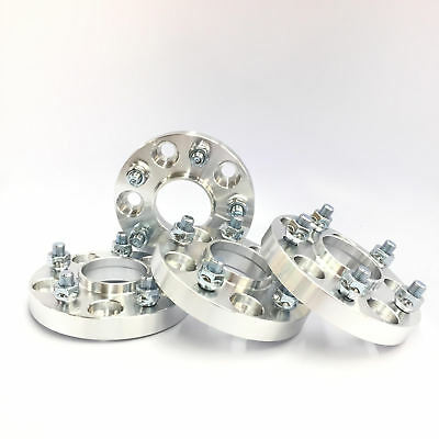 "4pc 1"" Thick Wheel Spacers with Lip 