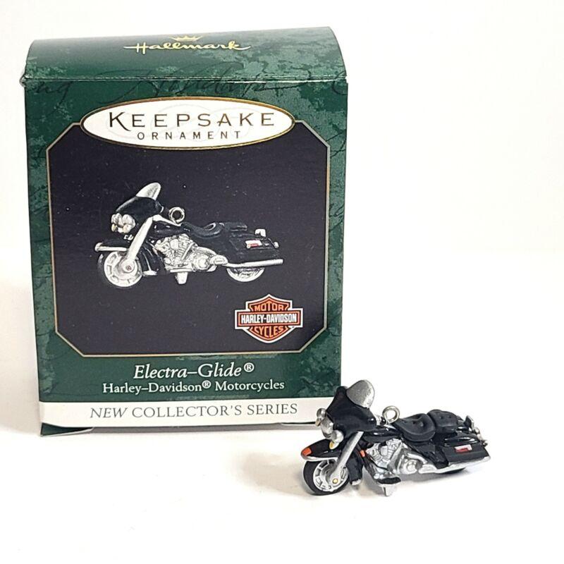 Hallmark Keepsake Ornament Harley Davidson Electra-Glide Miniature 1999