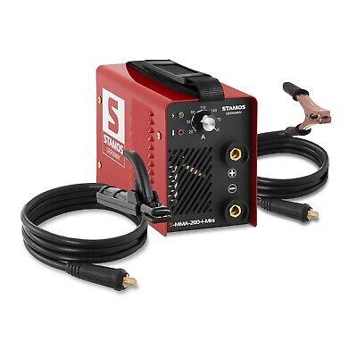STAMOS Elektroden Schweißgerät - IGBT Inverter MMA E-Hand 200 A Hot Start 230 V