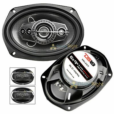 2 DS18 6x9 5-way Speakers 520 Watts Max Coaxial Speakers Pair Pack SLC-N69X for sale  Shipping to South Africa