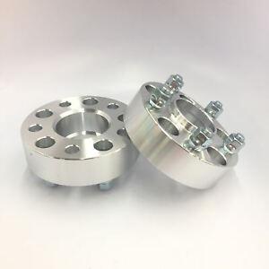 (2) 5X5 TO 5X5 (5X127) Wheel Spacers   14x1,5 Studs   78.1 CB   2.0