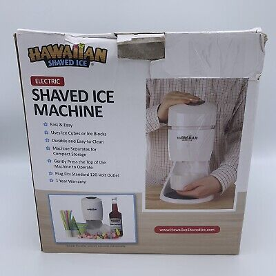 Hawaiian Shaved Ice Electric Shaved Ice Machine Fast And Easy To Use