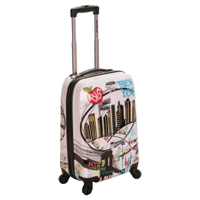 Rockland Luggage 20 Inch Polycarbonate Carry on | eBay