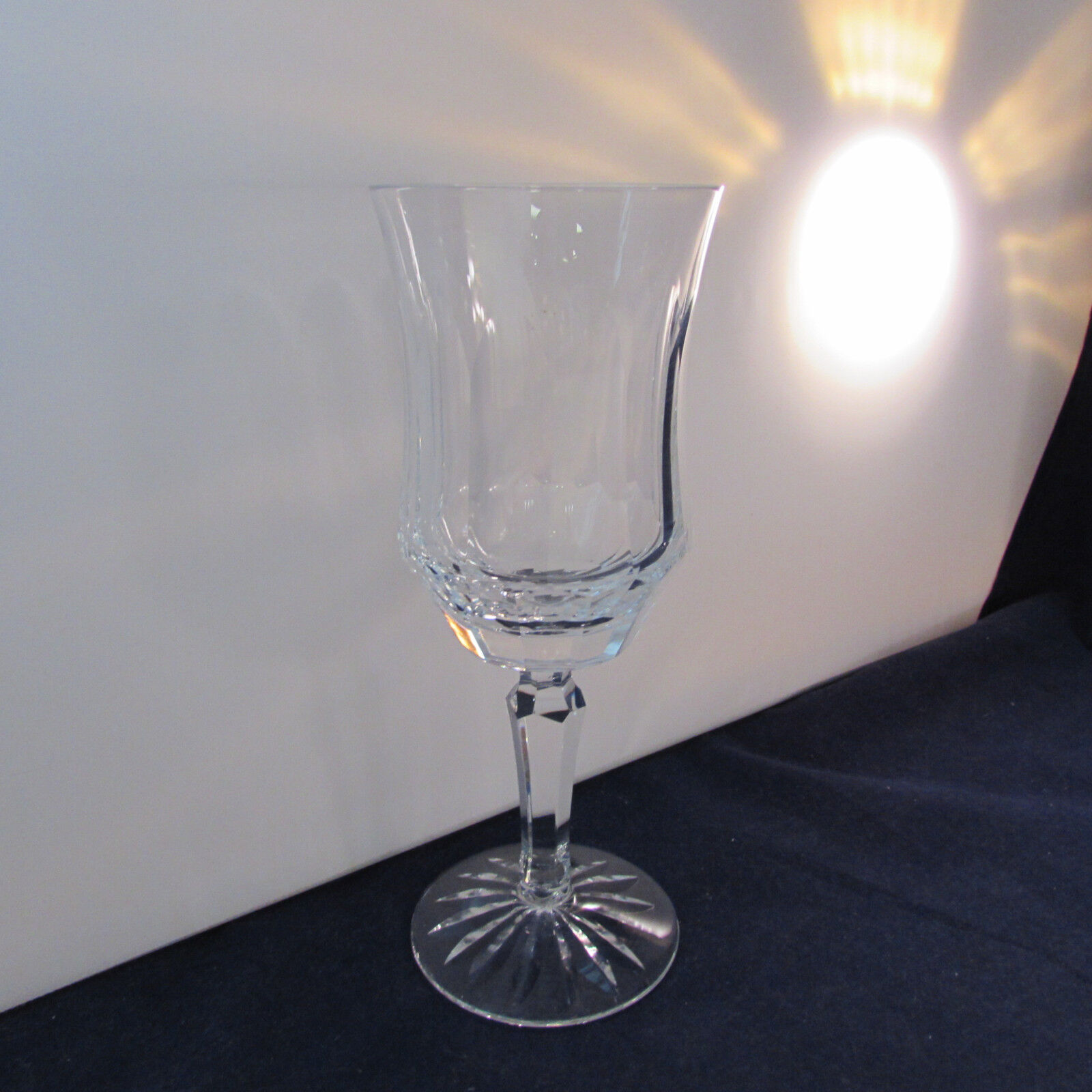 Galway Crystal OLD GALWAY Star Cut Foot Water Goblet
