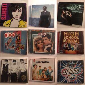 9 CD's