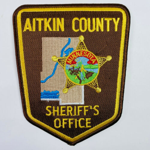Aitkin County Sheriff Minnesota MN Patch (A1)