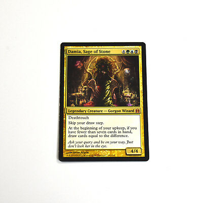 MTG DAMIA, SAGE OF STONE Commander (MP) Mythic English Normal for sale  Shipping to South Africa