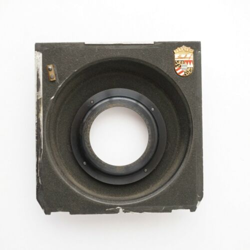 Linhof Technika Lens Board copal #0 for large format camera 4x5